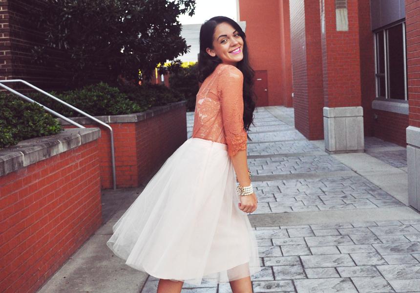 life lessons ft. The Girl That Loves tulle skirt