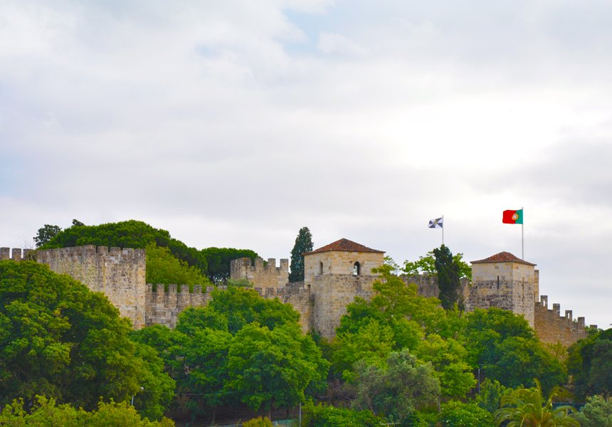 Lisbon Sao Jorge Castle