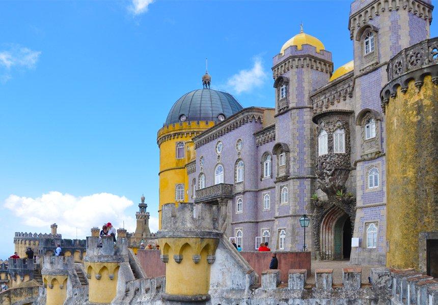 Lisbon Palacio de Pena