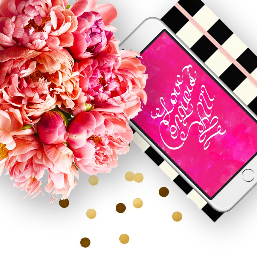 """Friday Freebies: """"Love Conquers All"""" Free Wallpaper Download 