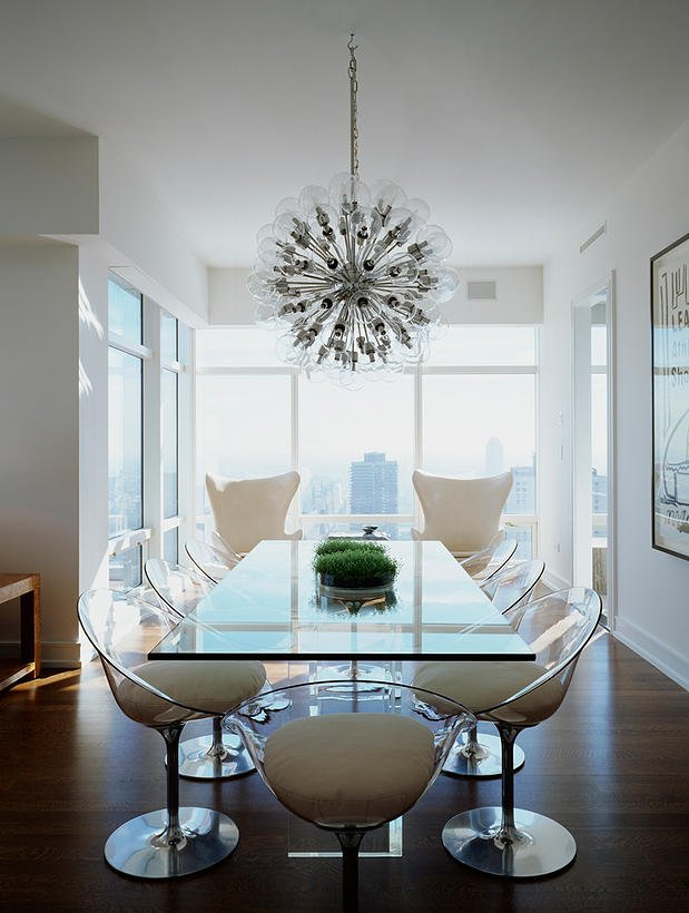 FOXYOXIE.com house wish list   acrylic ghost chairs in dining room