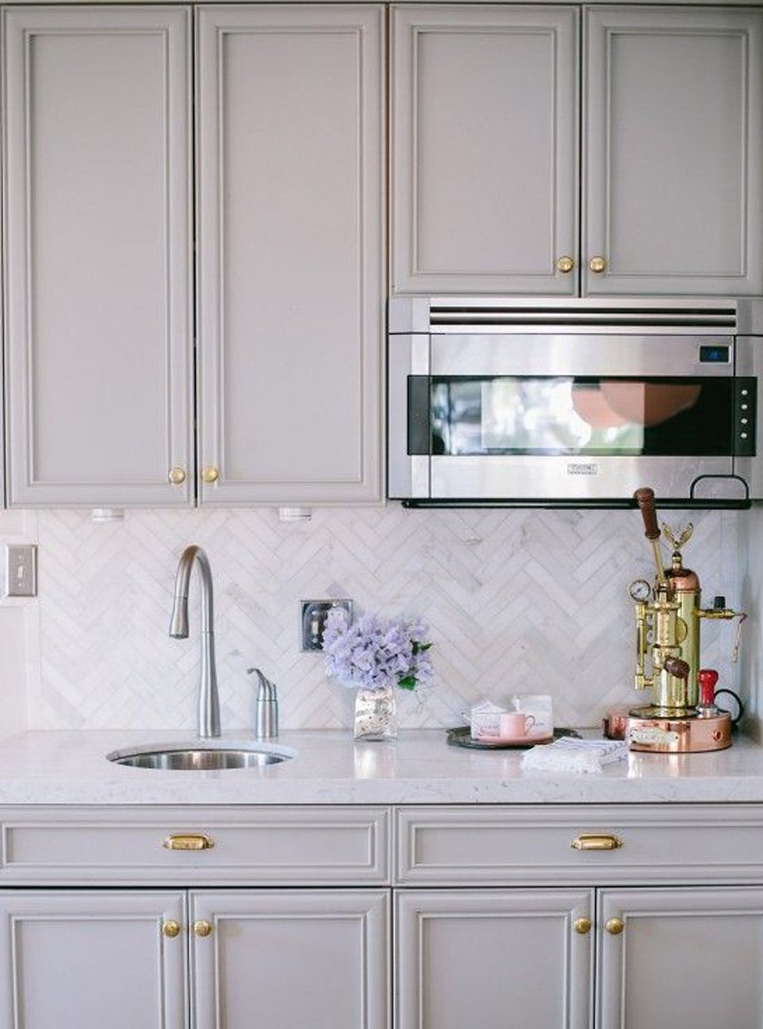 FOXYOXIE.com house wish list | herringbone backsplash