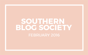 Southern Blog Society-February-2016
