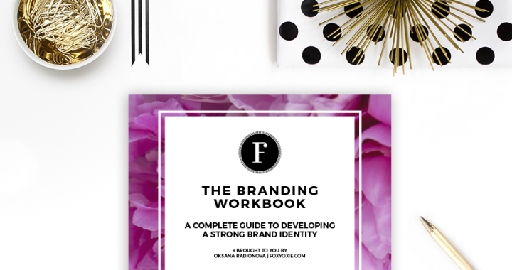 FREE Branding Workbook- A Complete Guide to Developing a Strong Brand Identity
