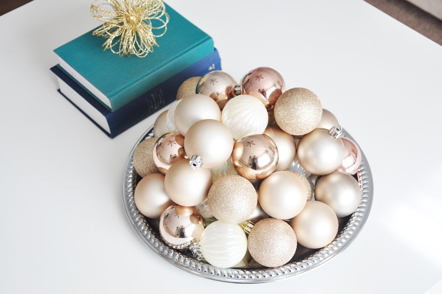 Glam Holiday Decor Ideas on a Budget   Sponsored by At Home