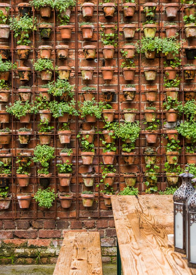 Most amazing living wall and vertical garden ideas foxy oxie herb wall workwithnaturefo