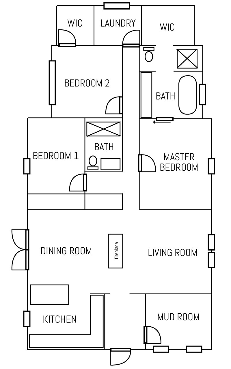 Floor Plan – AFTER