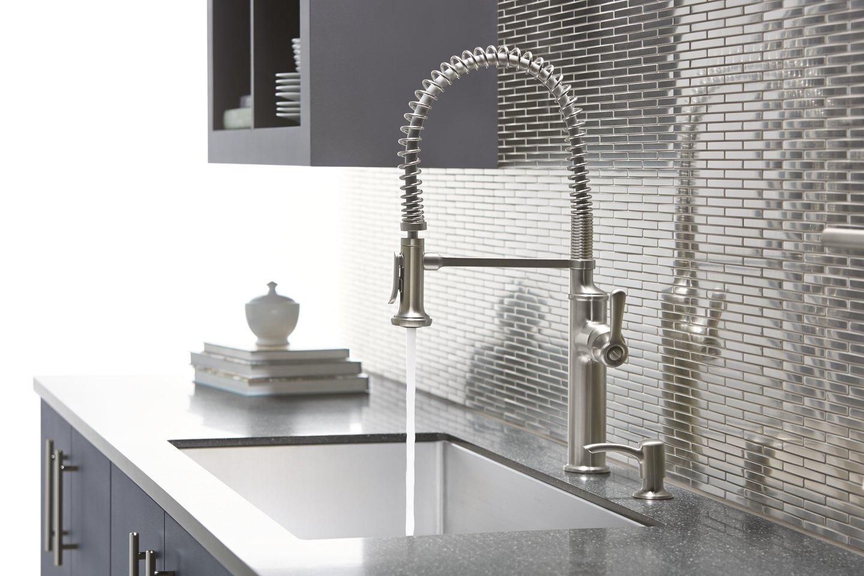Choosing a kitchen faucet is similar to choosing a husband