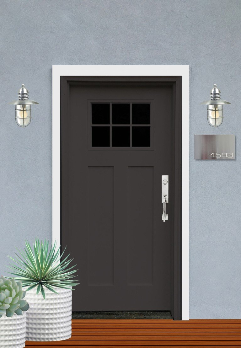 Exterior design concept craftsman front door Outside door design