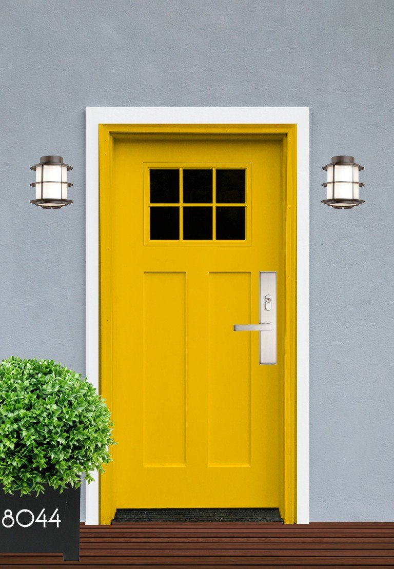 Exterior Design Concept Craftsman Front Door