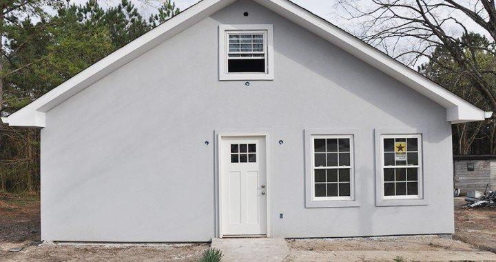 Home Renovation Progress Report- Bungalow Stucco Exterior