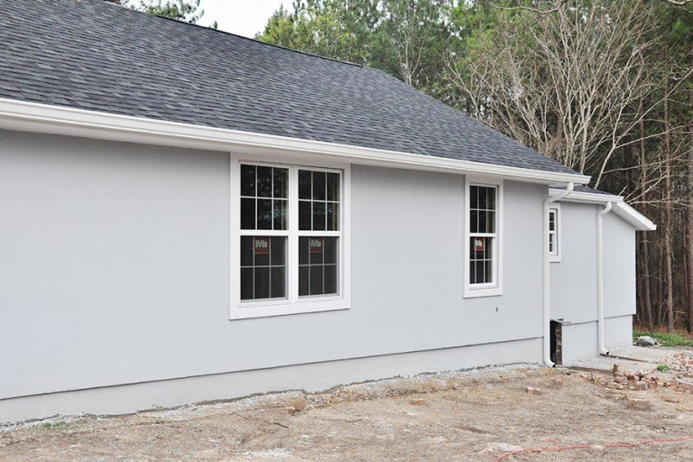 Home Renovation Progress Report- Bungalow Stucco Exterior 6