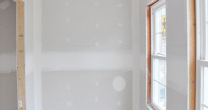 Home Renovation Progress Report - Drywall Installation