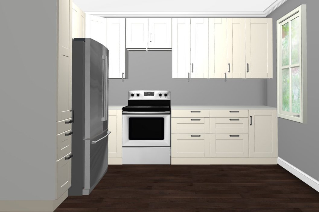 Ikea White Shaker Kitchen