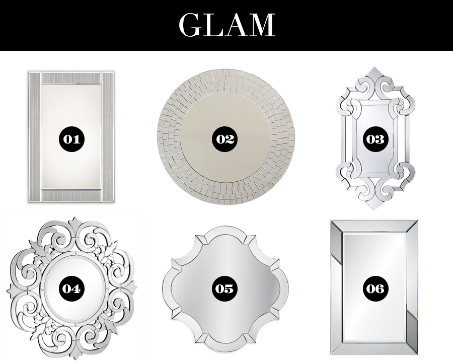Stylish Mirrors of Every Shape for Under $200