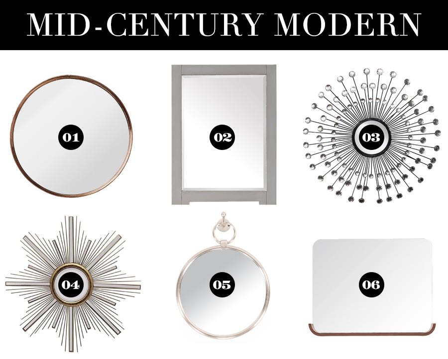 Mirrors of Every Style for Under $200