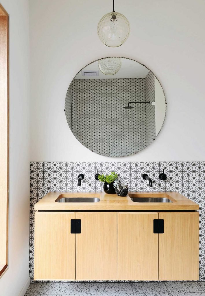 straight lines  more often than not with simple frames and rounded edges  The minimalistic aesthetic looks great over bathroom vanities or above a. Mirrors of Every Style for Under  200