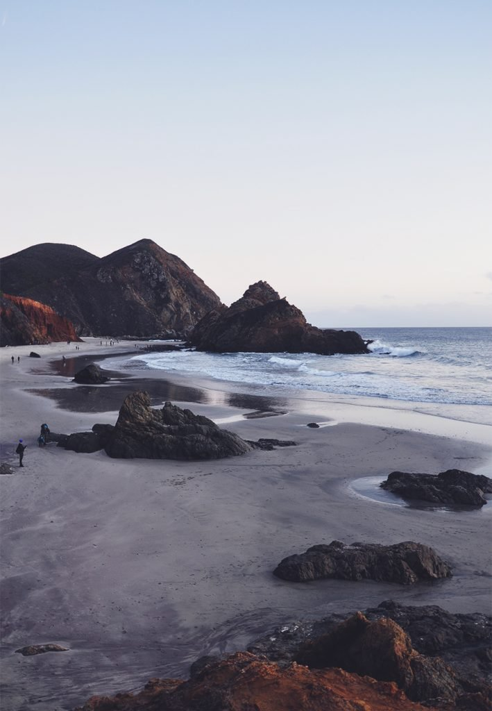 The Purple Sands of Big Sur's Pfeiffer Beach | FOXYOXIE.com