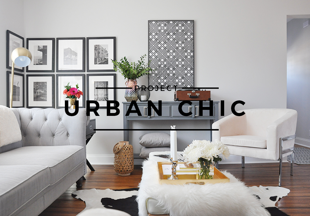 Interior design project urban chic foxy oxie for Urban home decor