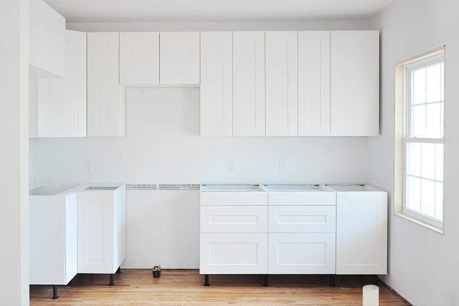 Ikea Kitchen Built In Cabinets