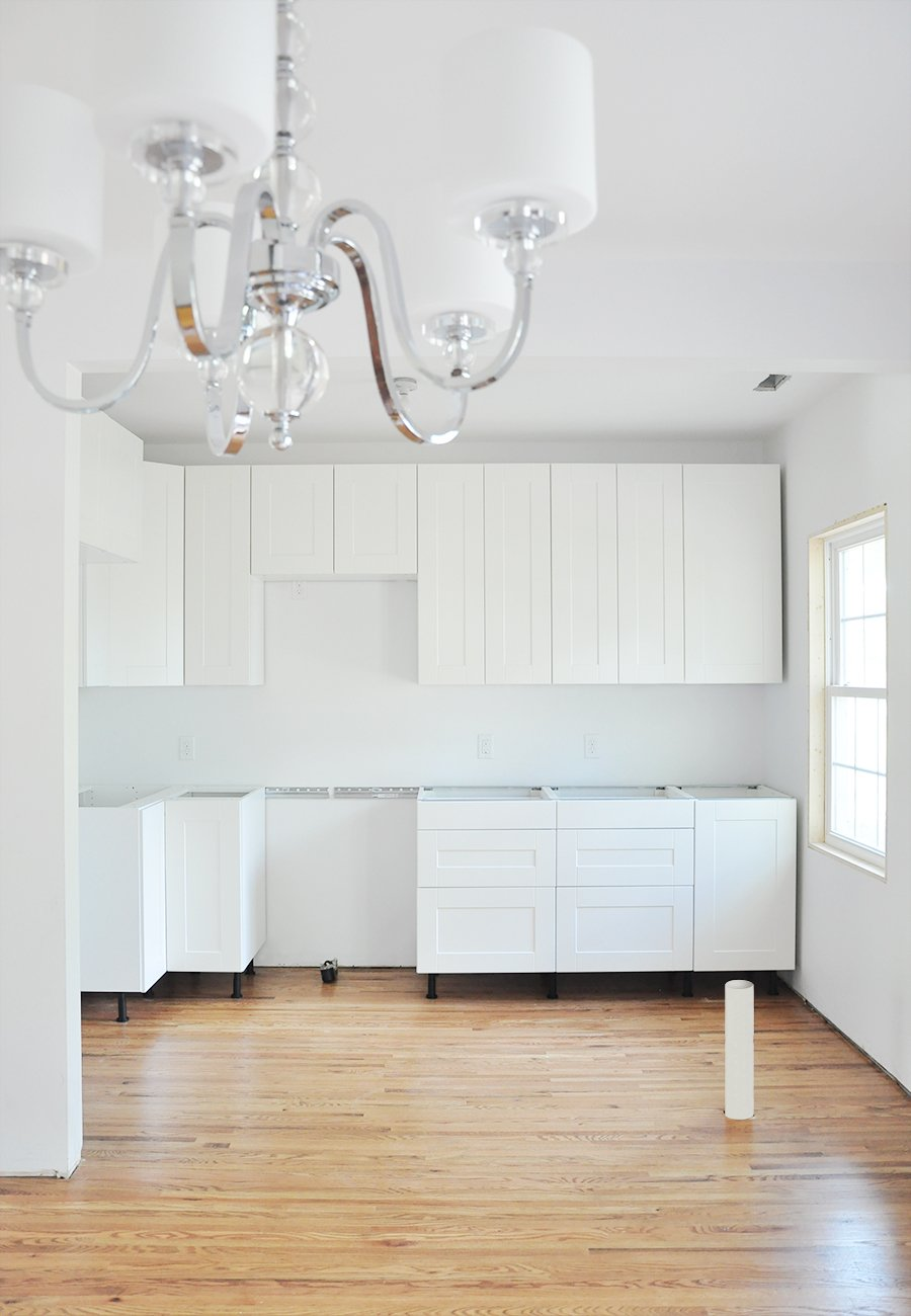 ikea white kitchen cabinets 14 Tips for Assembling and Installing IKEA Kitchen Cabinets ikea white kitchen cabinets