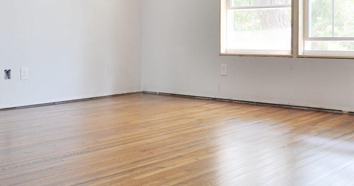 Home Renovation Progress Report - Hardwood Floors