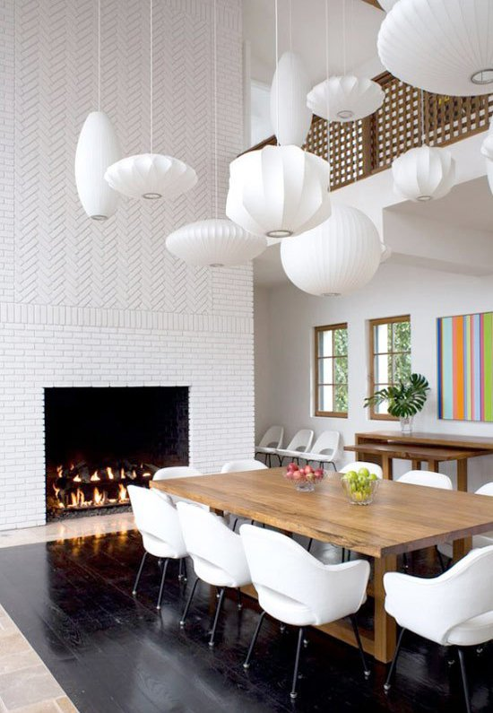 Fireplace Makeover Painting the Brick Fireplace White - Decoholic