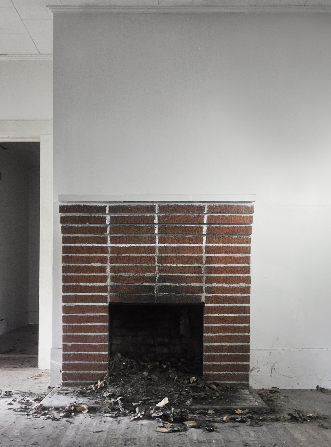 photo brick fireplace charm makeover domestic remodel