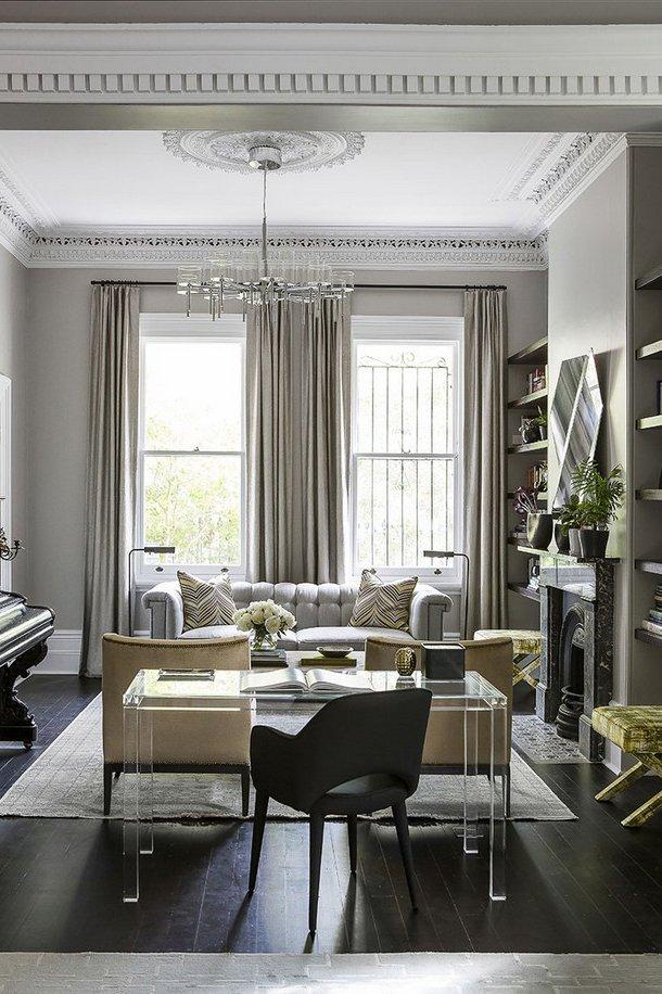 One Room Challenge, Week 2- Living Room Inspiration + Design Plan - Alexander James Interior Design