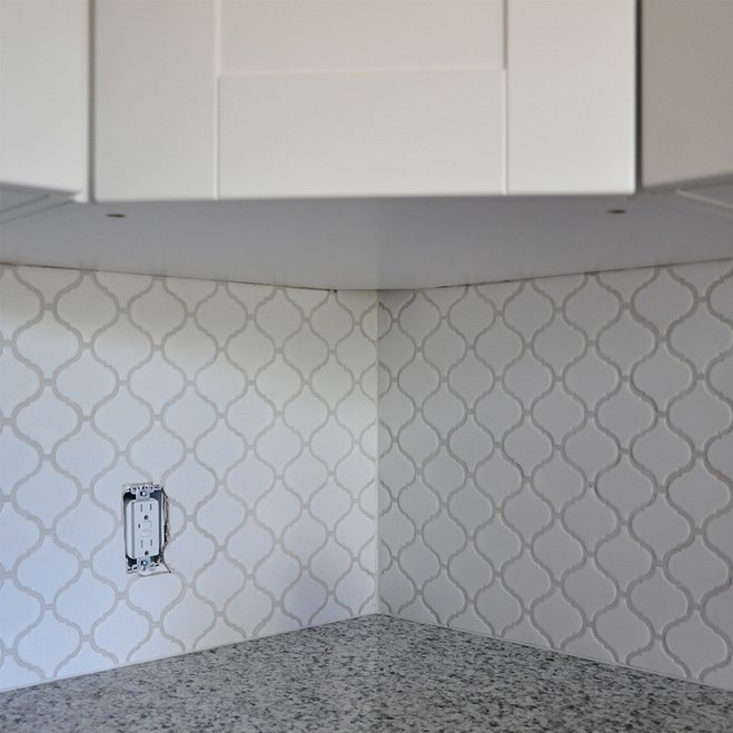 How To Tile a Kitchen Backsplash: DIY Tutorial Sponsored ...