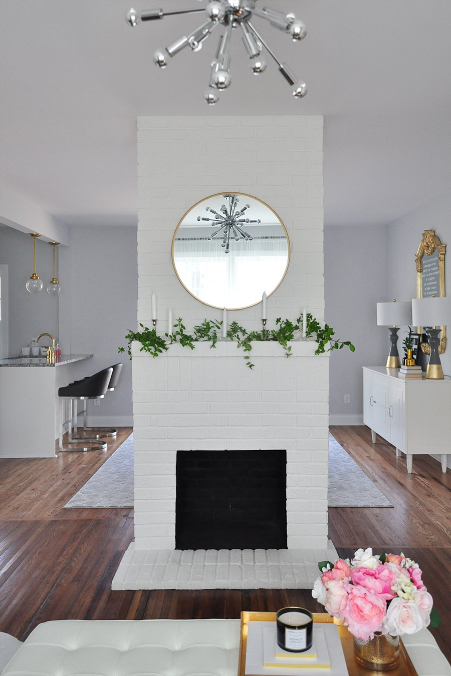 fireplace decor 3 simple ways to decorate your mantle for spring
