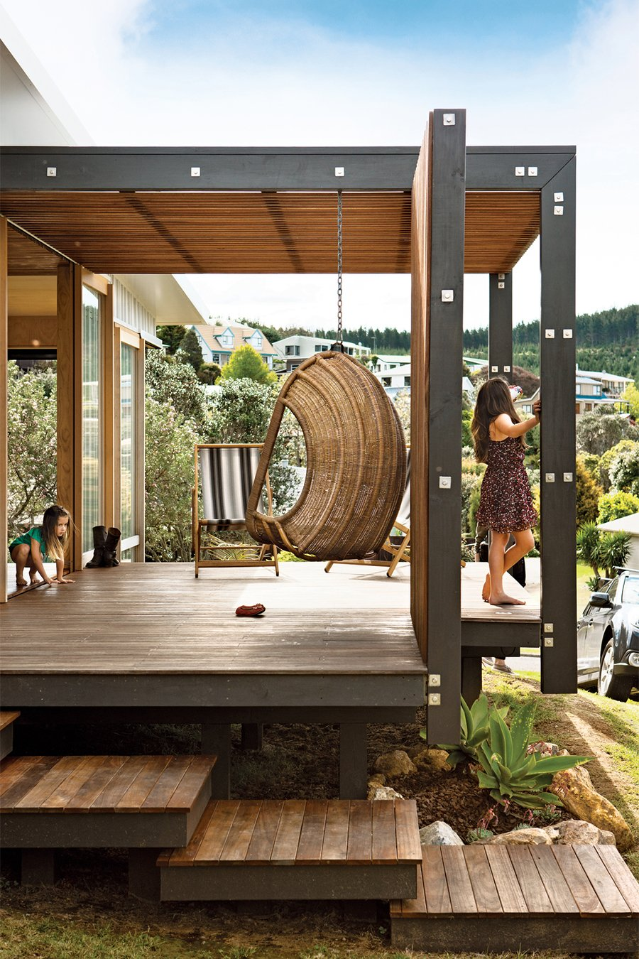 Outdoor Living: Dreamy Pergola Ideas for Our Deck on Garden Patio Decking Ideas id=12473