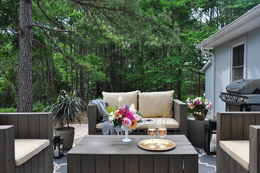 Deck and pergola cost breakdown rationale sources for Cost of outdoor living space