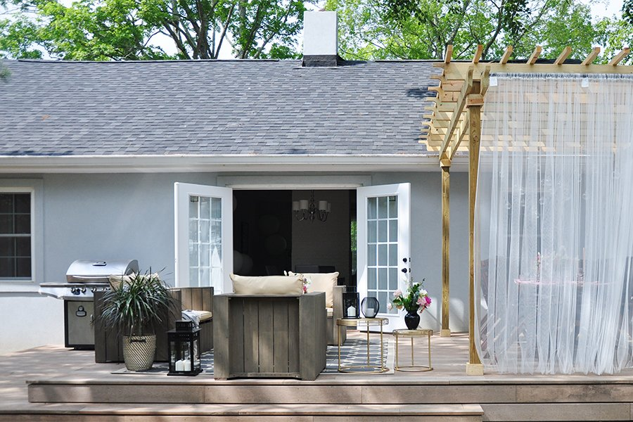 Introducing Our New Deck and Pergola In Time for the Summer Solstice