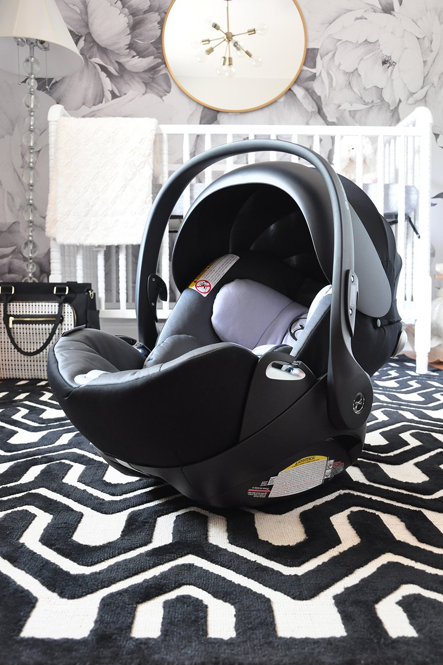 Preparing For Our Baby Girl Cybex Cloud Q Infant Car Seat