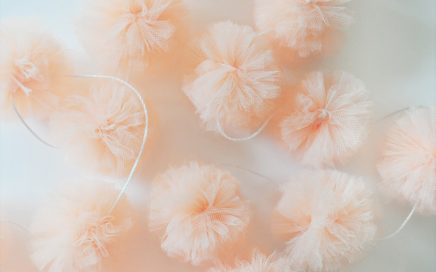 DIY How to Create Tulle Pom Pom Garlands