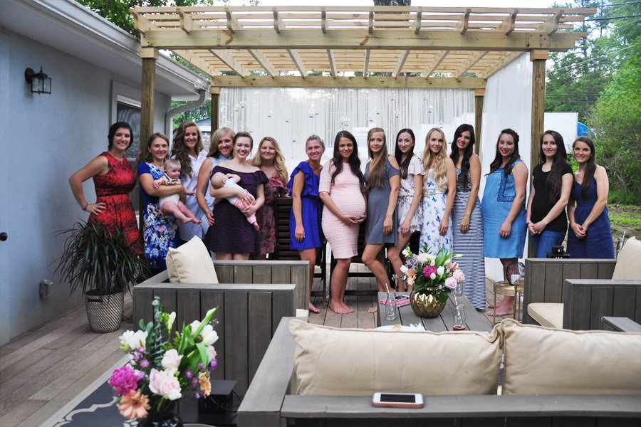 FOXY OXIE | My First-Ever Baby Shower