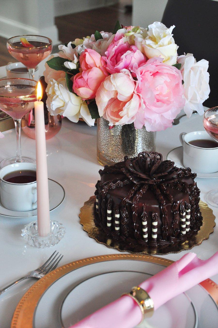 Marie Antoinette Inspired Dinner Party