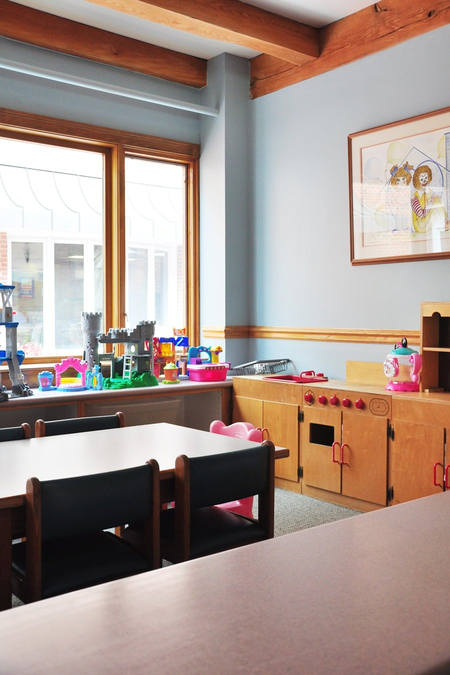 Chattanooga Ronald McDonald House Playroom Redesign: The Before