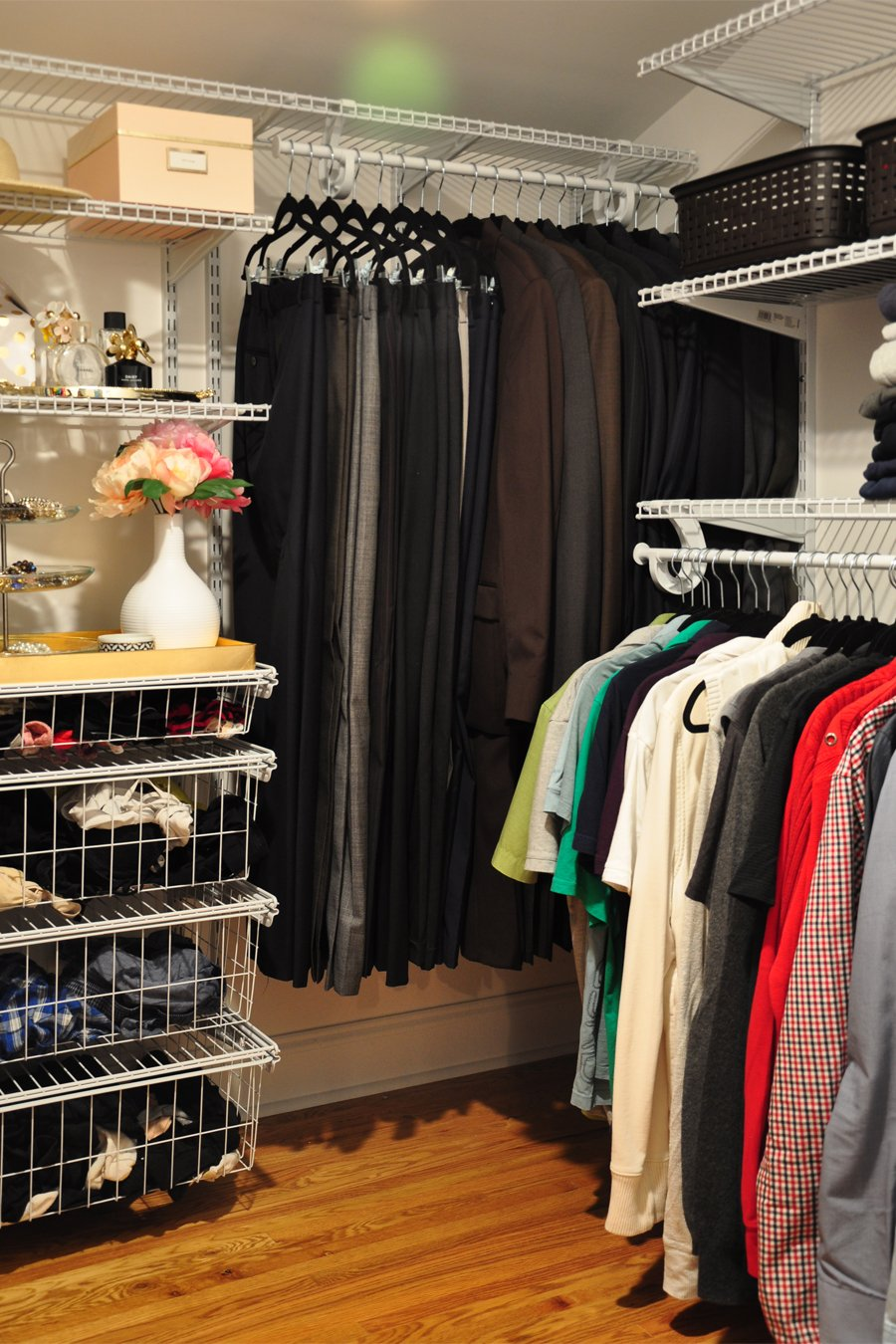 DIY Master Closet Makeover Before & After