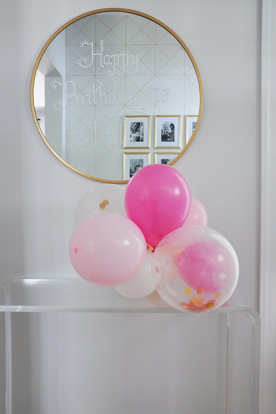 Mila's Balloon-Filled First Birthday Party