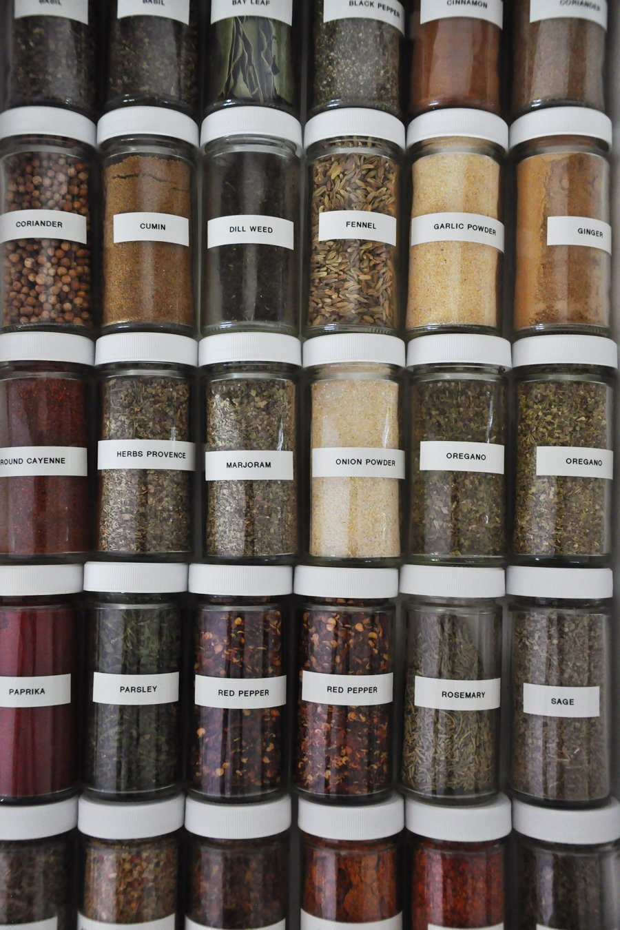 Spice Drawer Organization: Your OCD Will Thank You